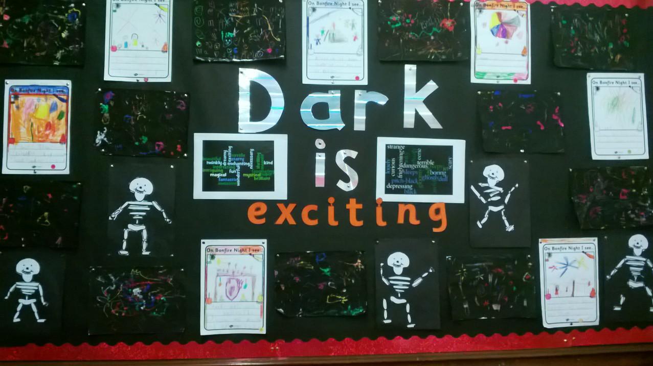 Dark is enlightening!