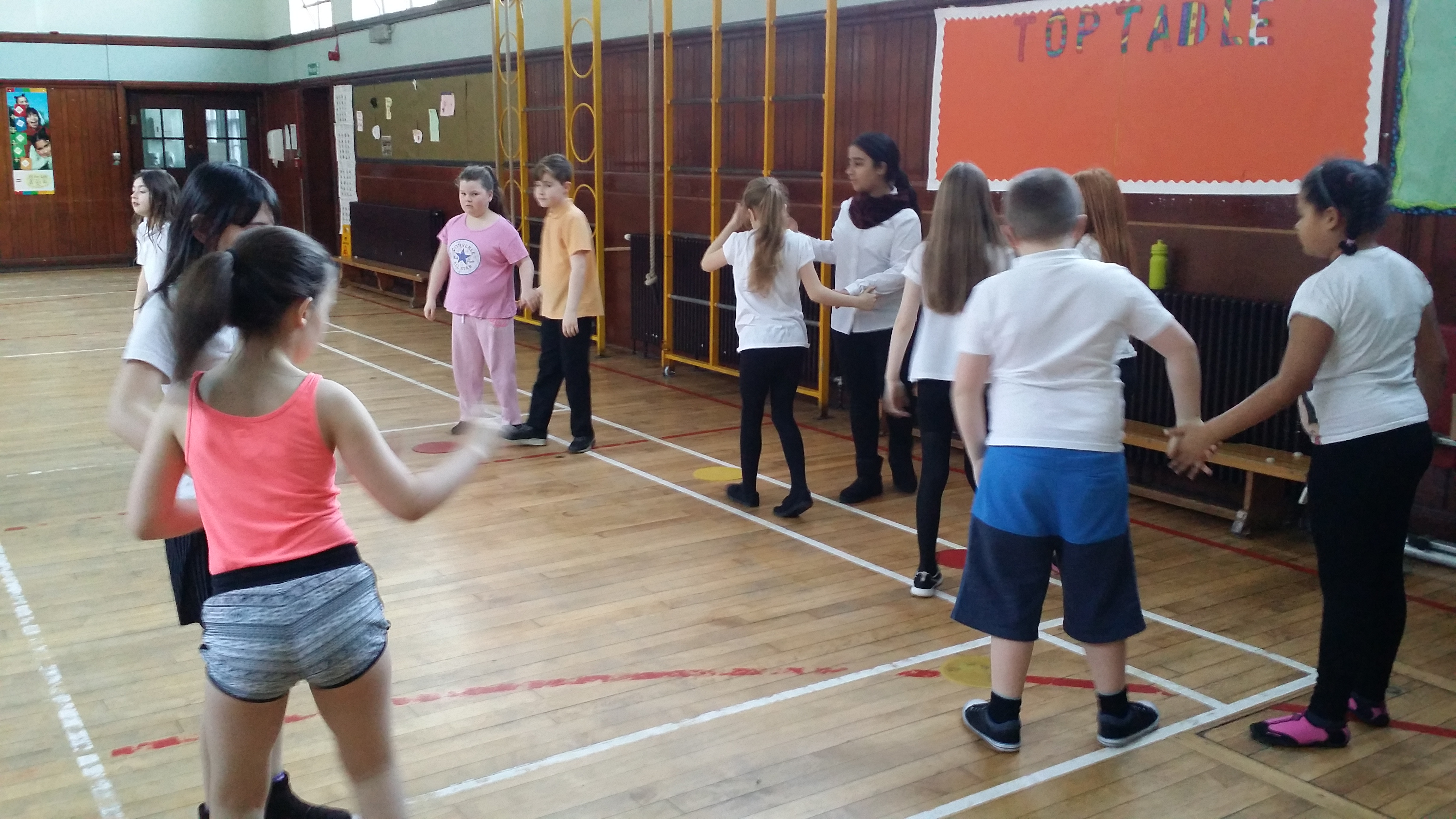 P5 IN TRAINING!!!..for the Scottish Dance Festival <3